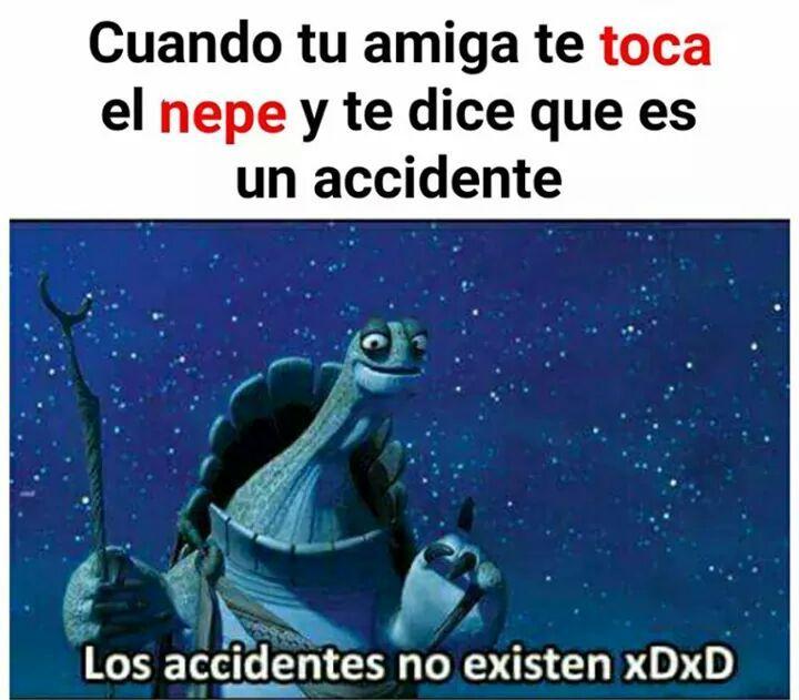 No hay  accidentes - meme