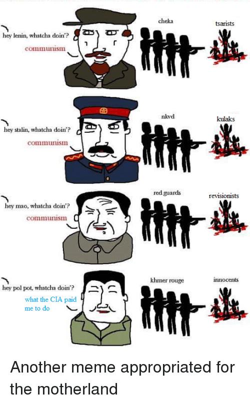 Commie - meme