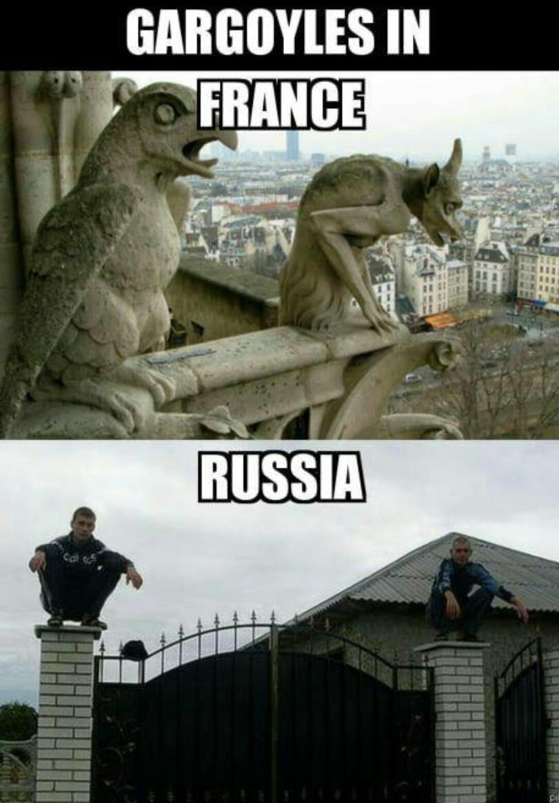Slavic times - meme