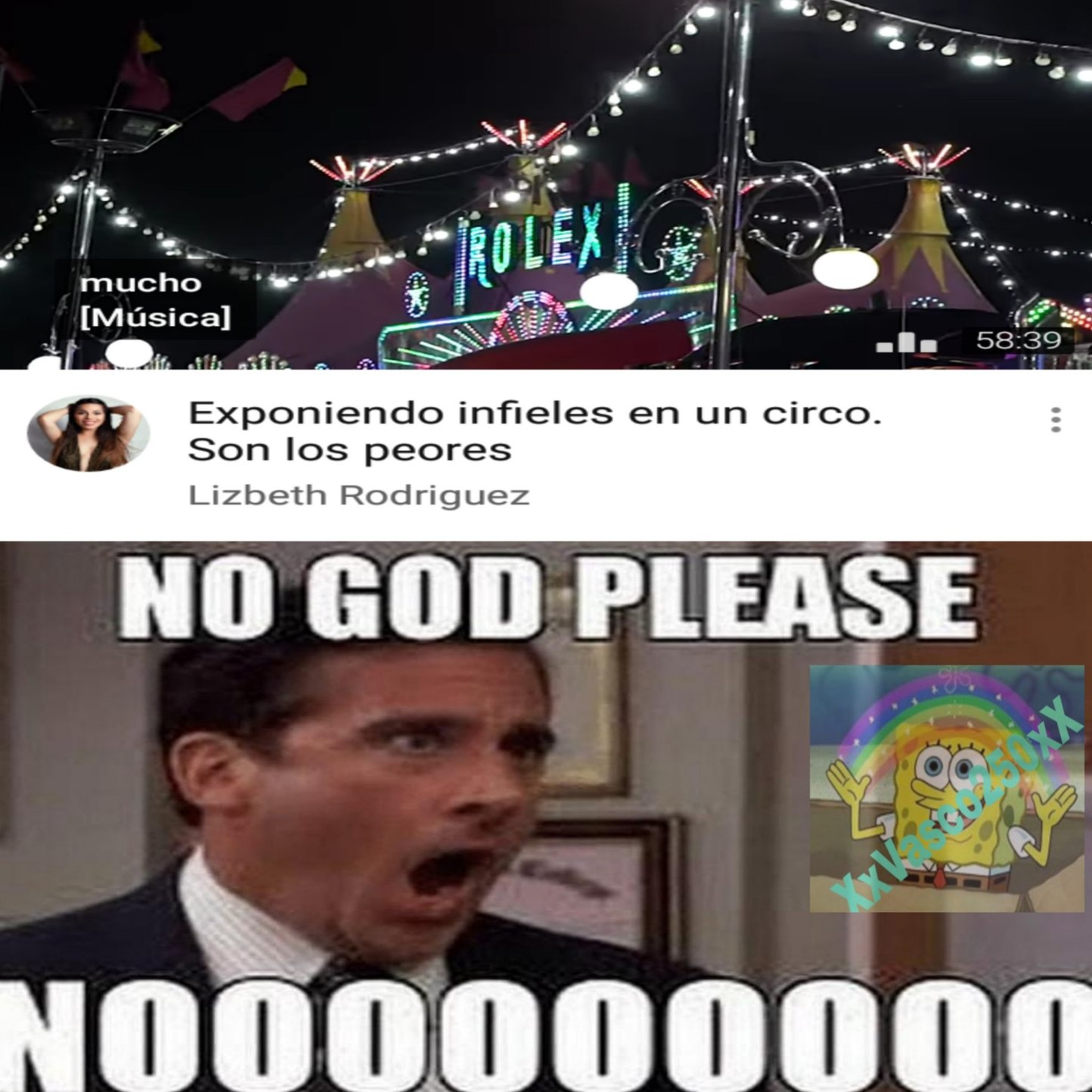 No please noooo - meme