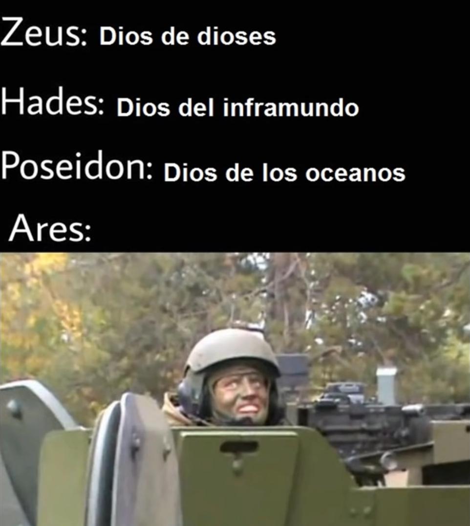 ozthia el  ares xabales - meme