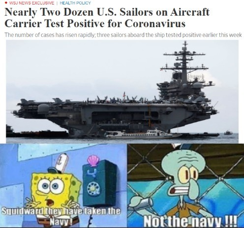 NOT THE NAVY!!! - meme