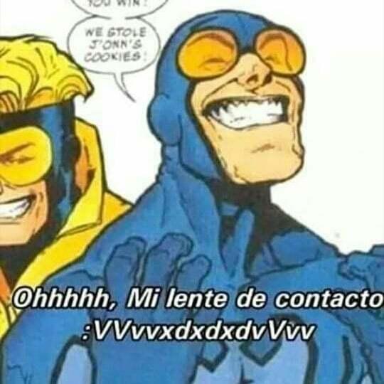 ¡¡¡OH, MI LENTE DE CONTACTO!!!. - meme