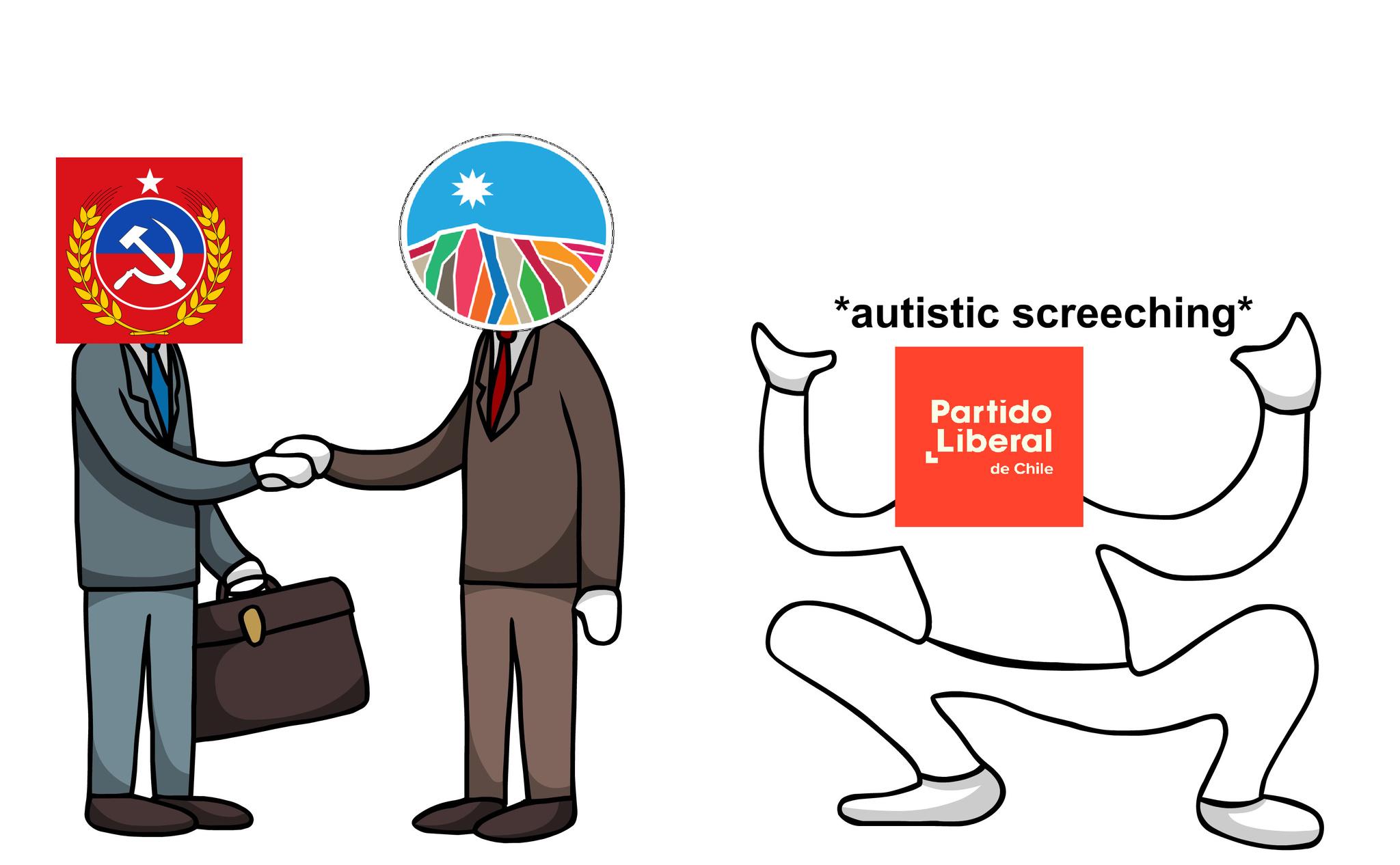 Meme político chileno