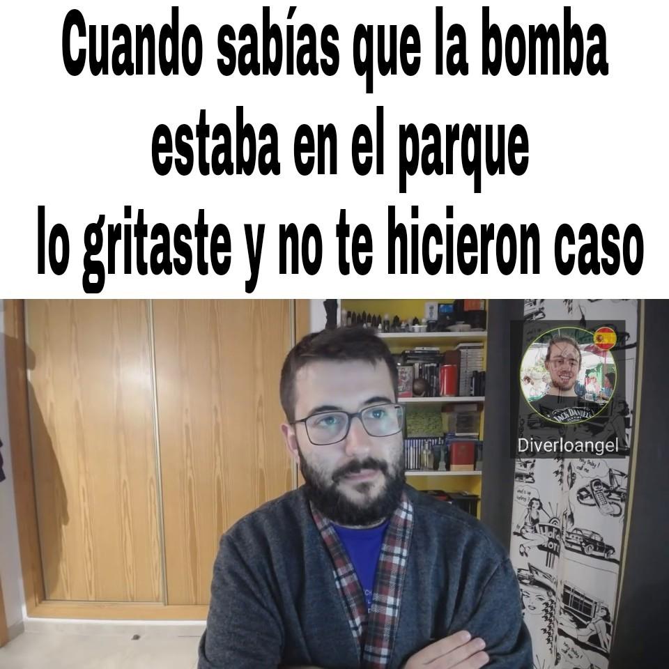Meme abajo pipo not included