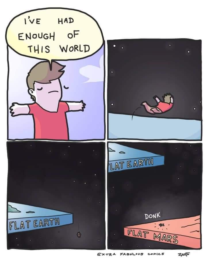 Flat vagina - meme