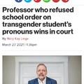 "He refused to call a student faggot ""Ms"" Boohoo faggot get fukt"