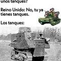 Por cierto, ese tanque es el Bob Semple, considerado uno de los peores tanques.
