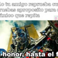 Con honor