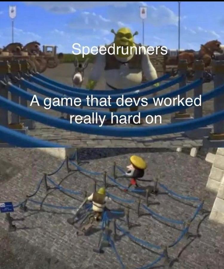 running in speed - meme