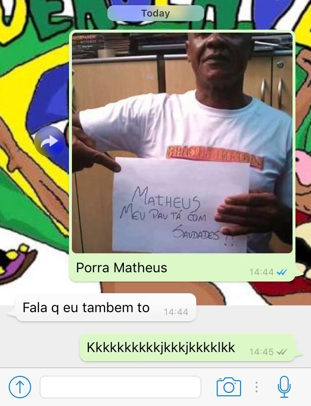 Porra Matheus - meme