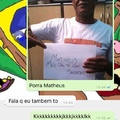 Porra Matheus