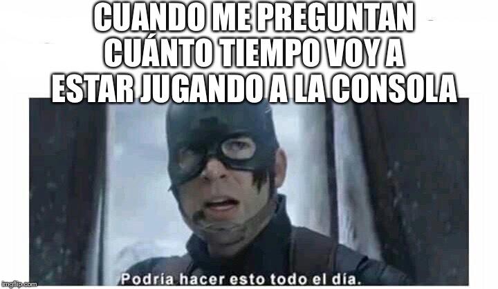 Capitán rogers - meme