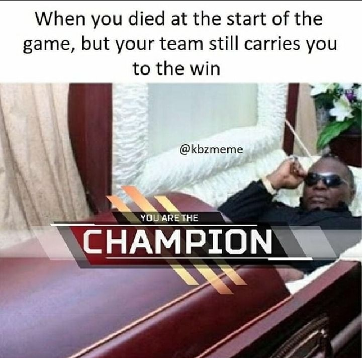 noobs mistaken as champions - meme