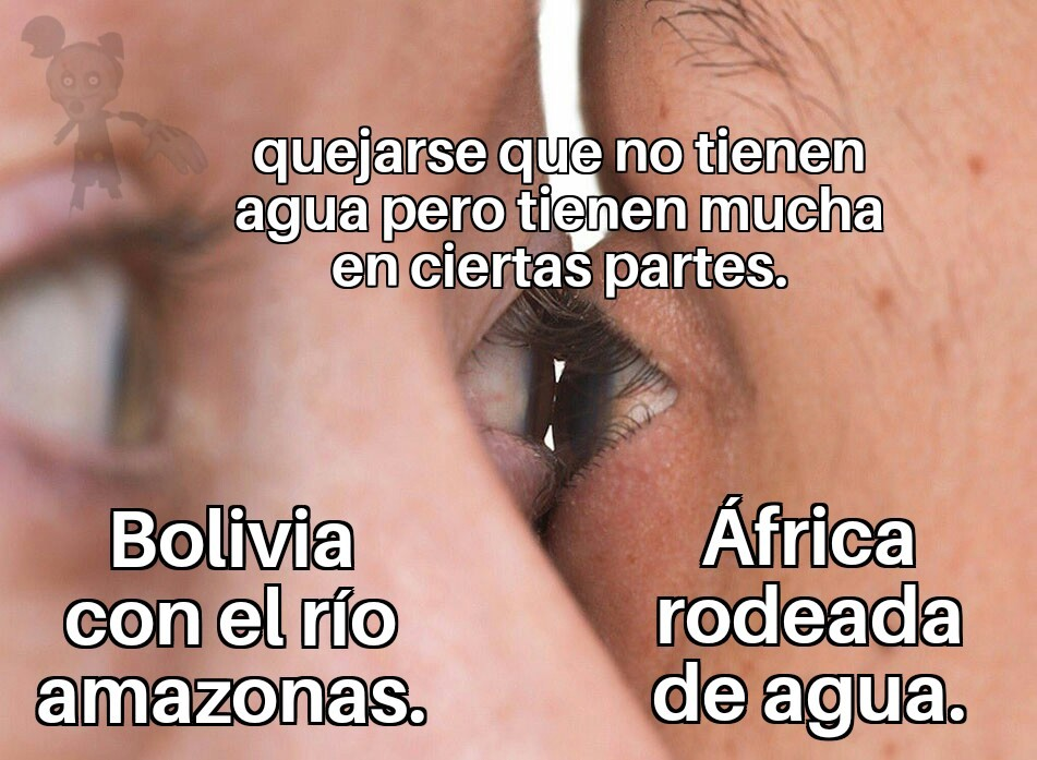 Bolivia tiene parte de un río - meme