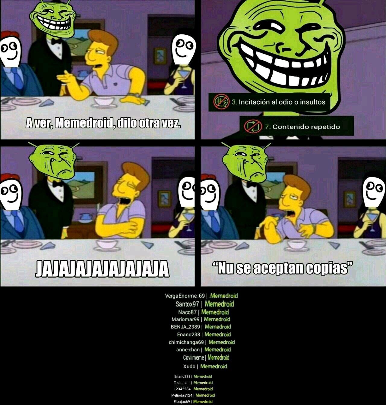 Cadena - meme