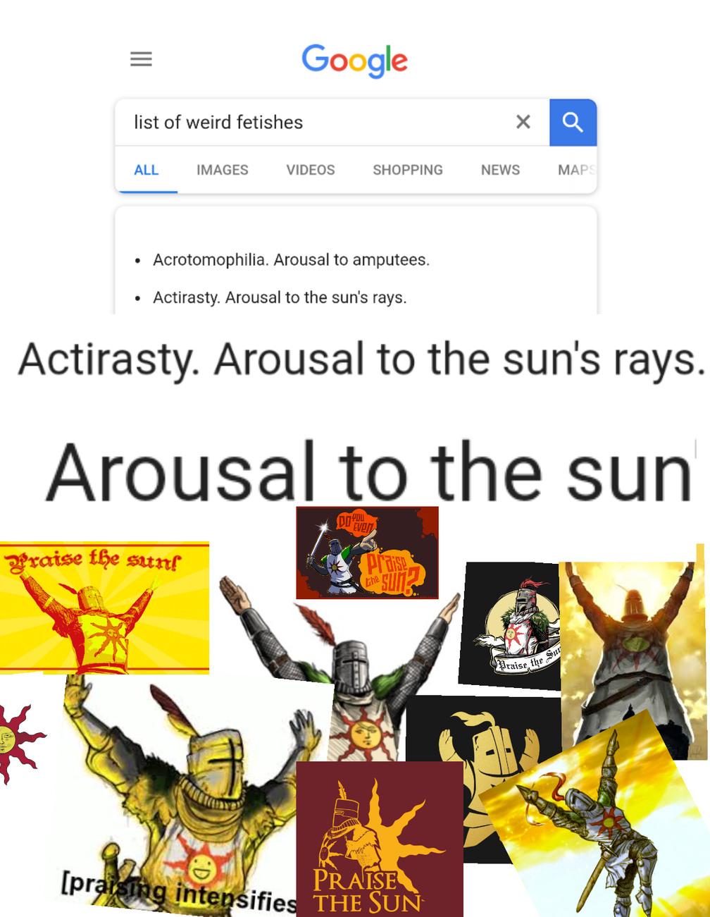 I wanna stick my dick in the sun - meme
