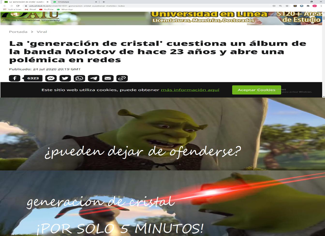 ¡UN ALBUM QUE SALIO HACE 23 AÑOS! - meme
