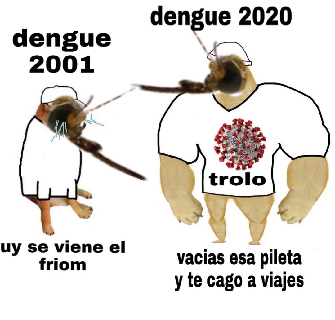 POV : cuando sientes el dengue en 2020 ULTRA PANIK - meme