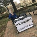 The more I know the less I know
