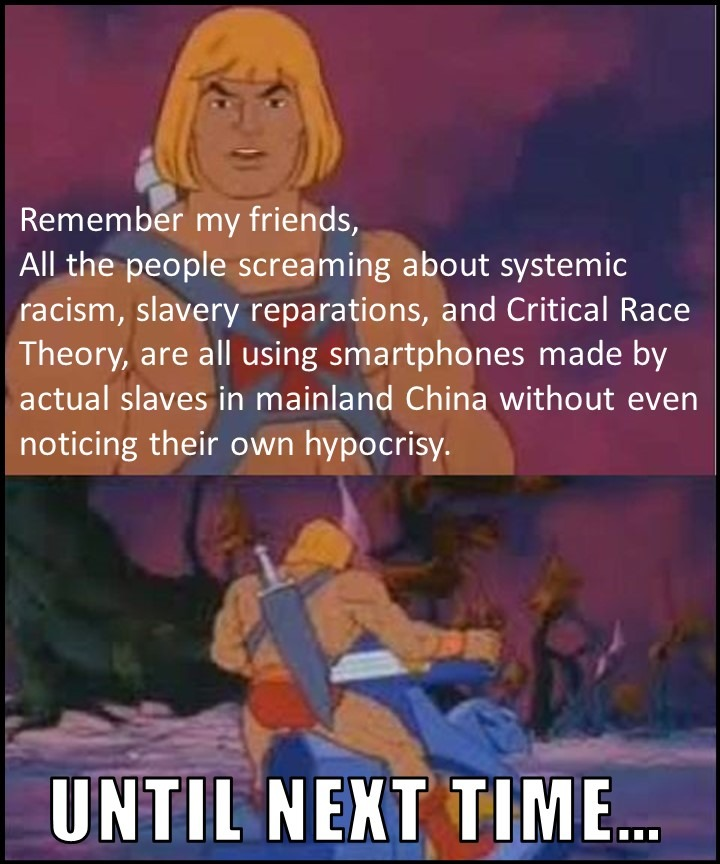 Maybe the Structural Racism Actually Resides Inside Communist Regimes? - meme