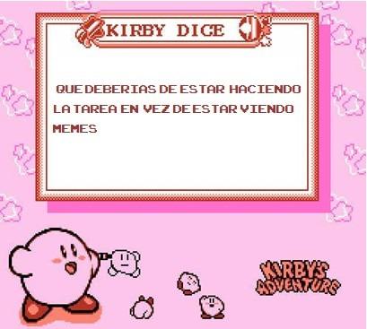 El Kirby te atrapó - meme
