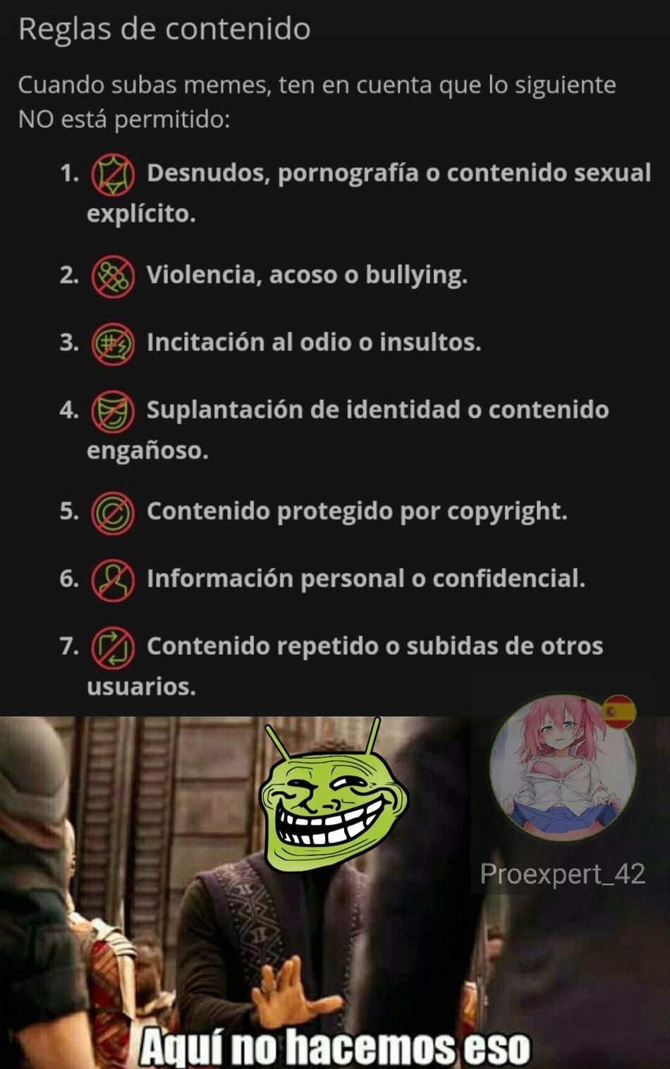 Insultos :) - meme