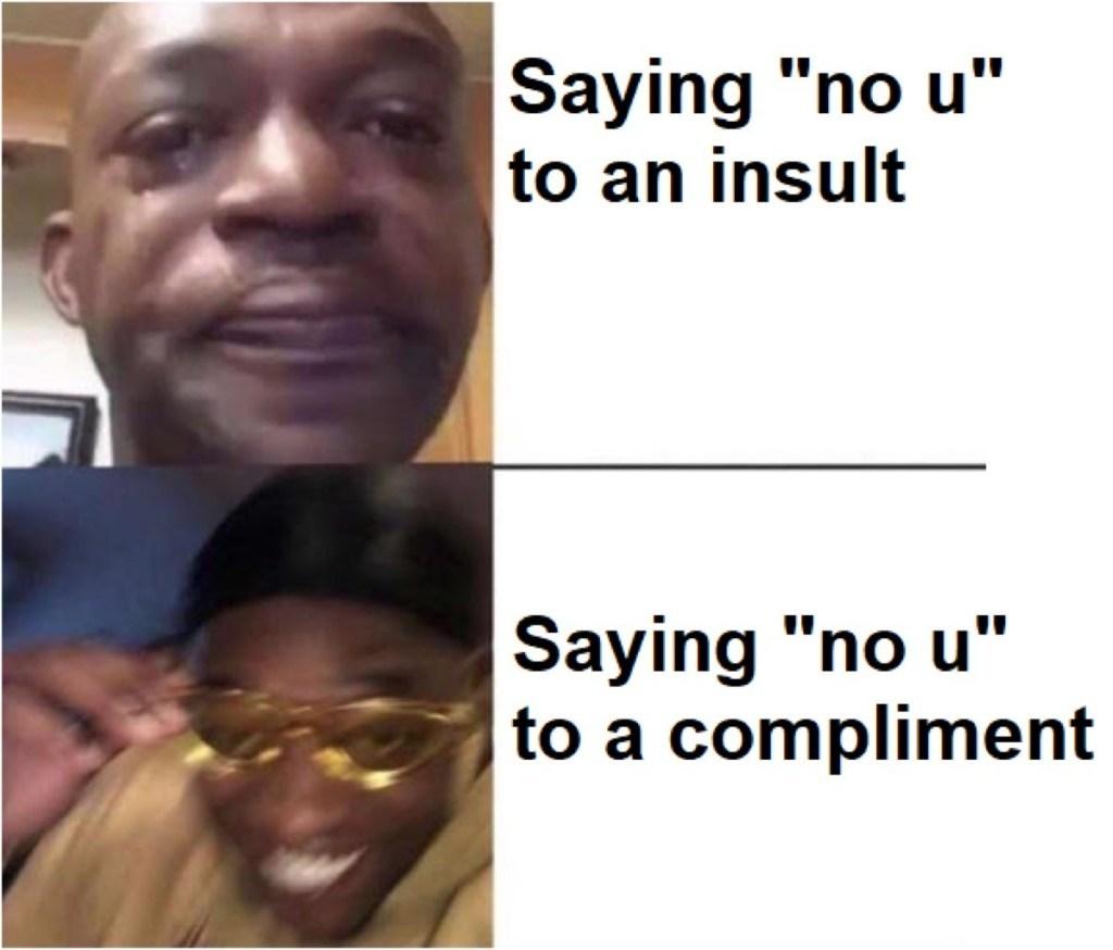 no u guys are amazing ok - meme