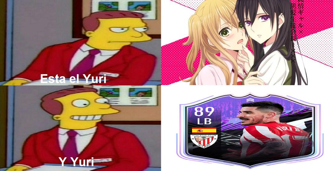 Tremendo memierda, pero bueno PD: El jugador se llama Yuri Berchiche - meme
