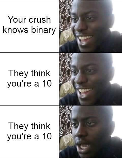 Binary - meme
