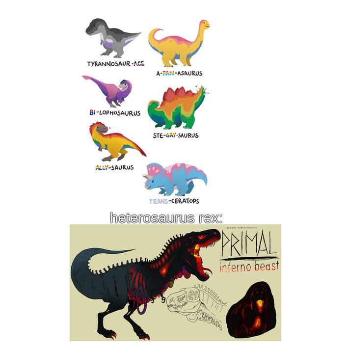 los demas dinosaurios fueron asesinados - meme
