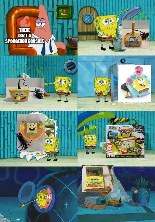 Memedroid dont appreciate the old spongebob consoles