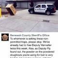 Damn donut traps