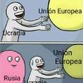 F por Ucrania