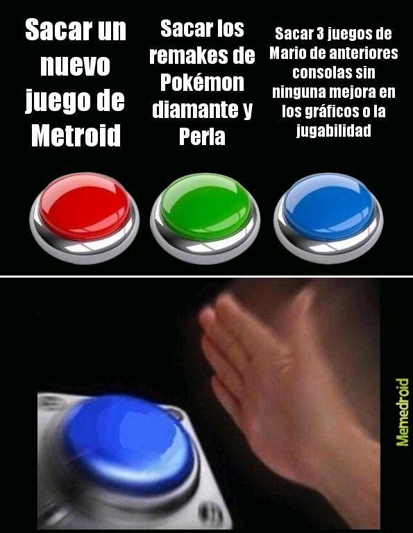 Ya saquen Metroid  prime 4 :( - meme