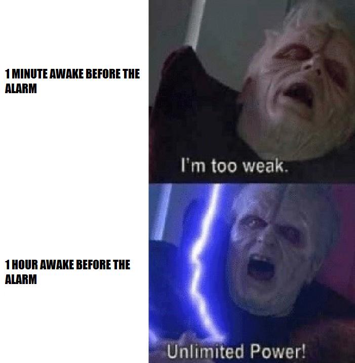 ALARM CLOCK - meme
