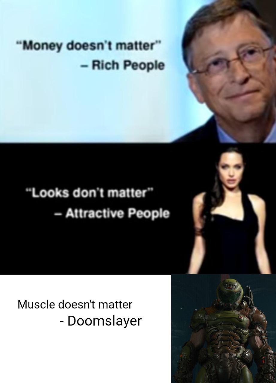My bois arms are friggin huge - meme