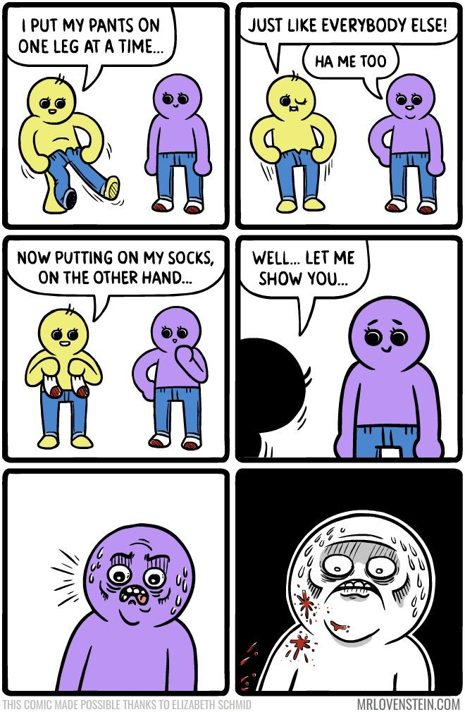 he put a sock on his penis - meme