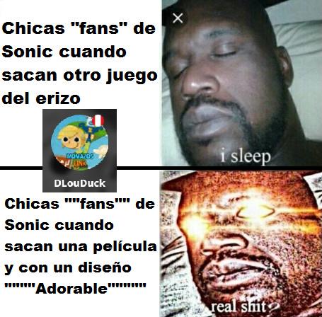 Crítica al fandom de Sonic The Meme