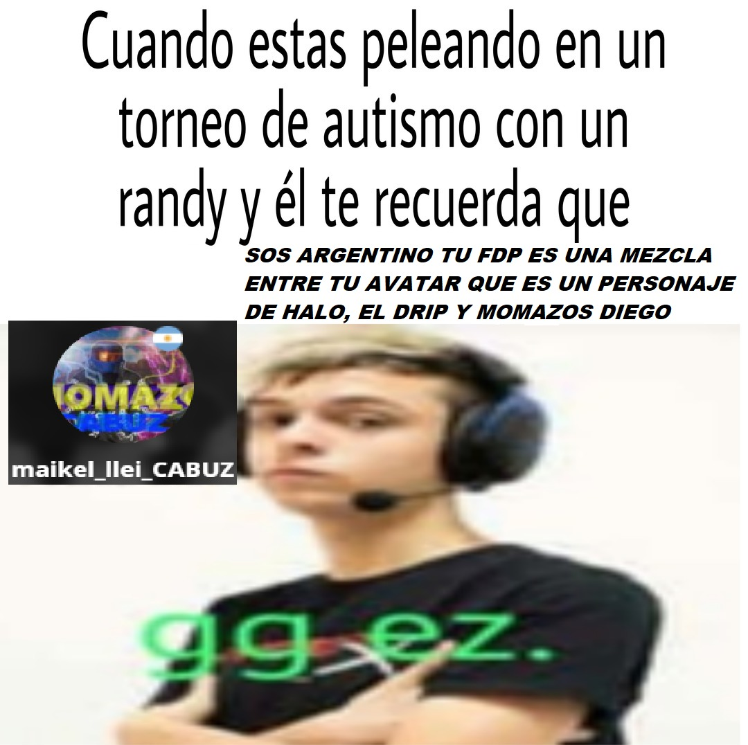 Me ultra dome y humille - meme
