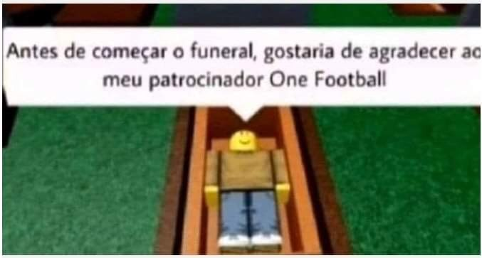 One football - meme