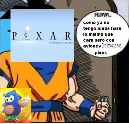 Pixar en 2013: PD:malardo - meme