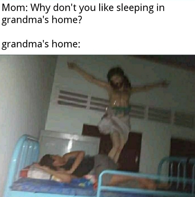 Grandma's home - meme
