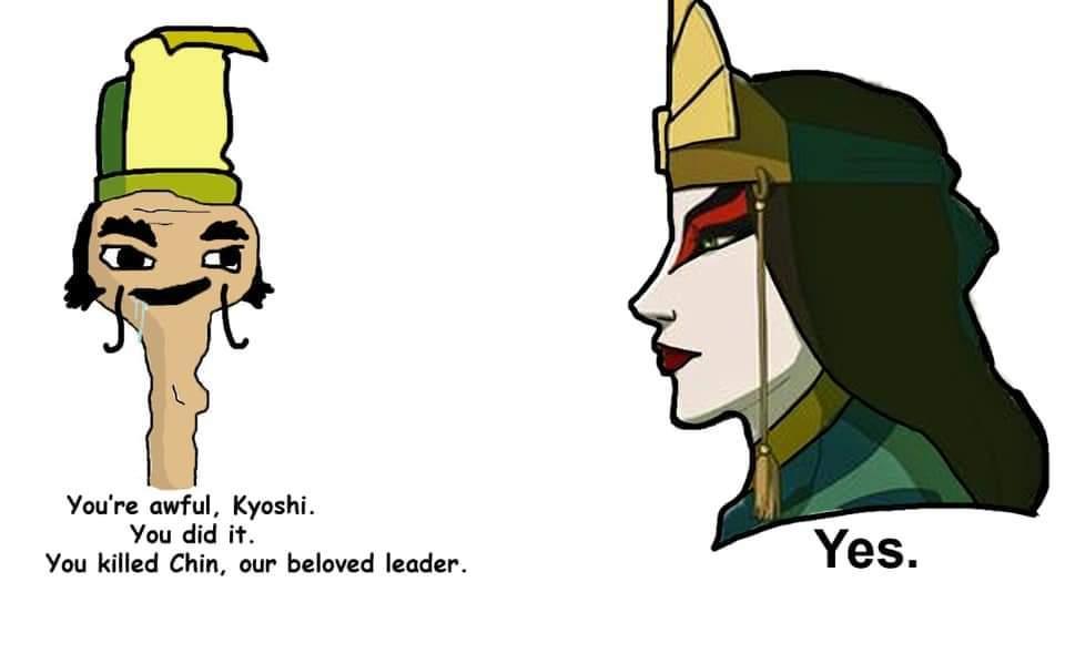 Chad Kyoshi vs Virgin Chin - meme