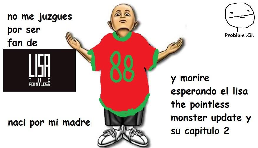 para fans de lisa the pointless salio la nueva actualización de lisa the pointless schoolar wilbur sin - meme