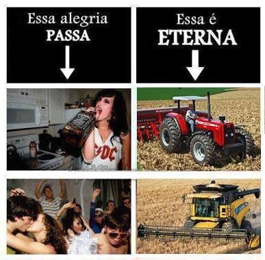 nada pode ser melhor que uma maquina agrícola - meme
