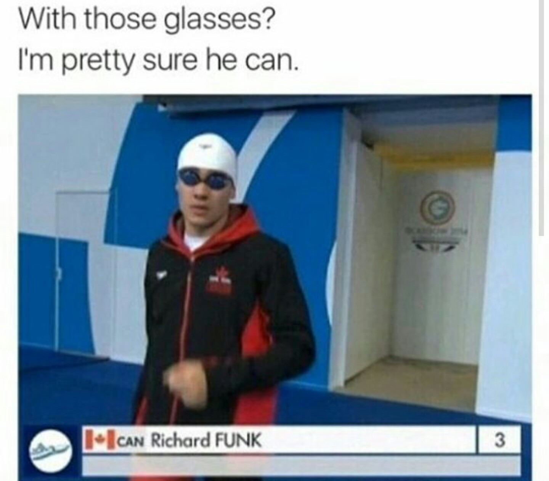 Can he funk - meme