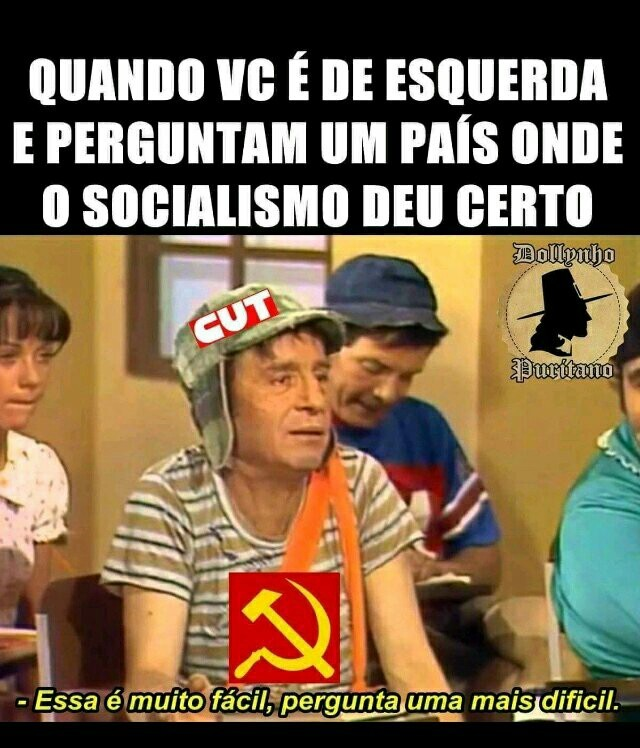 Comunismo nunca vai dar certo!!! - meme