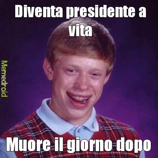 Presidente Brian - meme