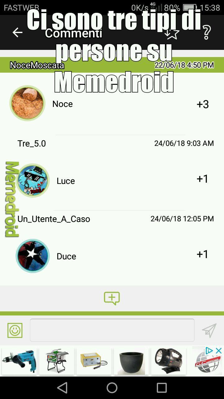 Cito Noce Moscata, Tre 5.0 e Un_Utente_A_Caso - meme